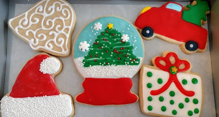 Decorated Christmas Cut Out Sugar Cookies Welcome To Sweet